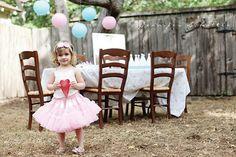 Vintage Ballerina Birthday Party - so cute!