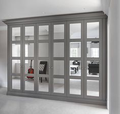 Fulham / London - The Heritage Wardrobe Company. Mirrored front