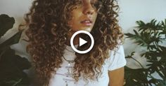 Curly Hair Routine + DIY Hair Cut #diy #hairstyles Curly Hair Styles Easy, Haircuts For Curly Hair, Curly Hair Tips, Curly Hair Care, Long Curly Hair, Diy Hairstyles, Diy Hair Hacks, Hair Without Heat, Diy Haircut