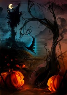 Samhain is a time when the veil is thinnest between the living and the dead.