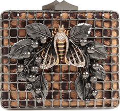 Bumble Bee Clutch Bag - Lyst..roberto Cavelli