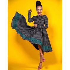 Open back long sleeves Ankara African Print dress Prom dress. Open back long sleeves African Print Dresses, African Print Fashion, African Fashion Dresses, African Dress, African Outfits, African Fabric, African Traditional Dresses, Traditional Fashion, Traditional Outfits