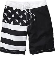 Mens Stars  Striped Board Shorts Maternity Wear, Latest Fashion, Old Navy, Man Shop, Shorts, Board, Swimwear, How To Wear, Clothes