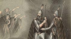 Ilustração da ópera 'Macbeth', de Giuseppi Verdi, encenada pela primeira vez em 1847 e baseada na peça de mesmo nome de Shakespeare (Crédito: Hulton Archive/Getty Images)