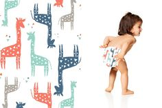 Honest Diapers in Giraffes #ClassicCollection #effective #safe  #delightful