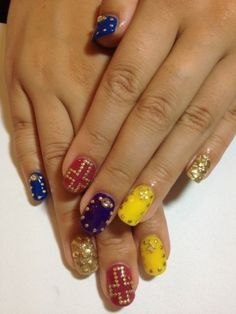 Stylish Nail Art Ideas for Fall 2012 - Nail Art Designs Gallery - Zimbio
