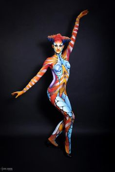 Make up for ever academy 10 years celebration show - promo 1 - holidays and Anatomy Sketch, Skin Wars, Videos Anime, Full Body Paint, Body Art Photography, Stick Art, Foto Art, Foto Pose, Human Art