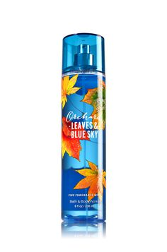 Bath and Body Works Signature Collection Fine Fragrance Mist Orchard Leaves and Blue Sky Full Size 8 Ounce Bath N Body Works, Bath And Body Works Perfume, Victoria Secret Fragrances, Diy Lotion, Fragrance Mist, Body Mist, Body Spray, Smell Good, Body Care
