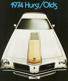 1974 OLDSMOBILE CUTLASS HURST W30  PACE CAR