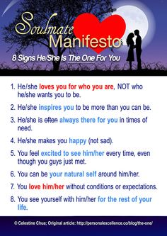 The Soulmate Manifesto
