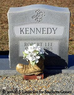 Southern Graves: Tombstone Tuesday: Robert Lee Kennedy #genealogy