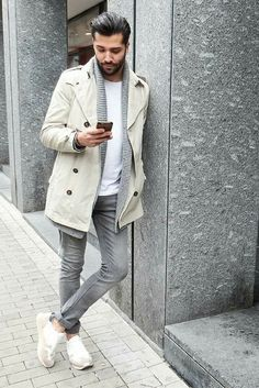 how to wear winter coat for men  #mens #fashion