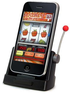 A slot machine for home or the office desktop. I wonder if it'll deposit to my PalPal account?