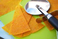 Mango-Pineapple, No Sugar Added, homemade Fruit Leather