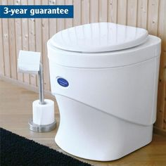 Composting Toilet - Separett Weekender 7000 Waterless Composting Toilet