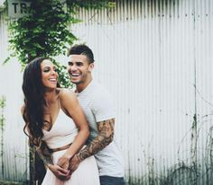 sydney leroux and her new husband dom dwyer