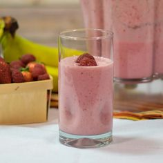 Strawberry raspberry smoothies are a great way to start the morning. This healthy breakfast recipe uses strawberries, raspberries, and greek yogurt to create a thick, delicious smoothie packed with great stuff to get you going.