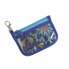 Bora Bora ID + Key Holder, Blue @organizingstore