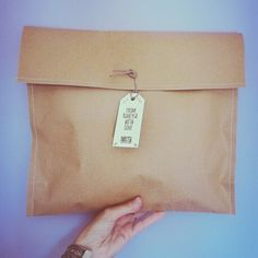 Our handmade and recyclable packaging loves earth.