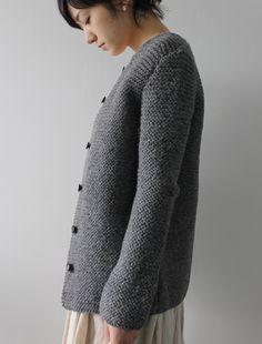 [Envelope Online Shop] Bergfabel knit coat Lisette
