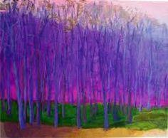 Wolf Kahn trees