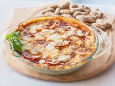 Get Pepperoni Pizza Dip Recipe from Food Network