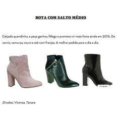 O site da @revistaestilo elegeu a bota de cano médio como tendência do próximo do inverno. Na foto o modelo de verniz preto é da @tanarabrasil e logo estará no nosso site. Linda não é? #repost -- @saladeimprensasp