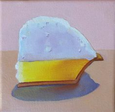 """A little Slice of Lemon Heaven"" 6x6 - Oil by Terry Romero Paul"
