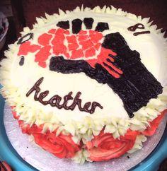 American Idiot 18th birthday cake #greenday #baking