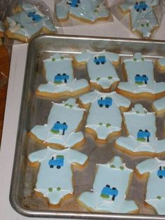 onesie cookies for an office baby shower no fail recipe with antonia