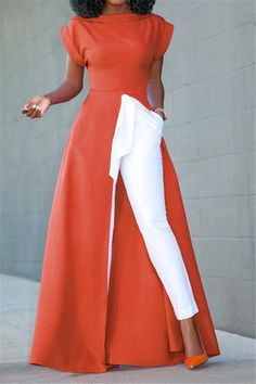 Outstanding womens fashion are offered on our site. Have a look and you wont be sorry you did. Look Fashion, Fashion Outfits, Womens Fashion, Fashion Trends, African Fashion Dresses, African Dress, Blouse Sexy, Spring Skirts, Collar Dress