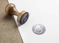 Corporate image: stamp