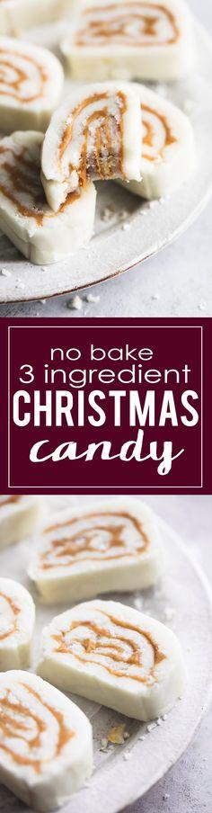 3 Ingredient Old Fashioned Potato Candy (no bake) |lecremedelacrumb.com