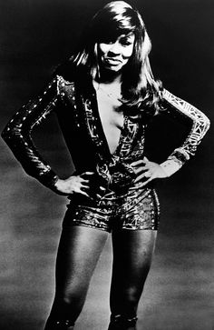 Turner Tina *Saengerin Schauspielerin USA Portrait 1974