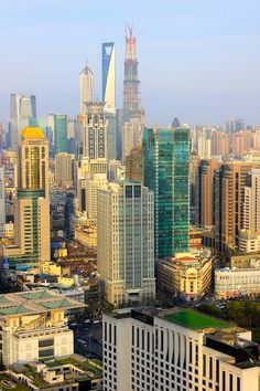 March 25, 2013. The stunning skyline of Shanghai awaits us on this glorious Spring day. www.traveladept.com