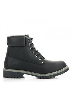 Pánske čierne trapery McKeylor Timberland Boots, Hiking Boots, Adidas, Shoes, Fashion, Moda, Zapatos, Shoes Outlet, Fashion Styles