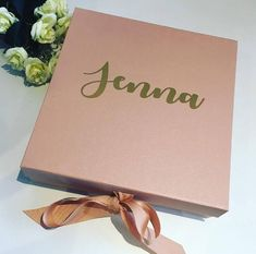 Excited to share this item from my shop: ROSE GOLD Personalised bridesmaid box, bridesmaid gift, Will you be my bridesmaid box, personalised gift box, maid of honour box Bridesmaid Boxes, Bridesmaid Proposal Box, Wedding Favor Boxes, Gifts For Wedding Party, Party Gifts, Maid Of Honour Gifts, Maid Of Honor, Personalized Wedding, Personalized Gifts