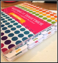 This Crazy Life...Michelle Underwood Designs: Keeping it Together Planner Kit & Giveaway!!!