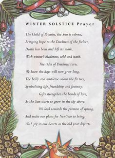 Winter Solstice—a Bridge to New Beginnings. - Winter Solstice—a Bridge to New Beginnings. Solstice And Equinox, Summer Solstice, December Solstice, Happy Winter Solstice, Pagan Yule, Samhain, Wicca Witchcraft, Green Witchcraft, Book Of Shadows