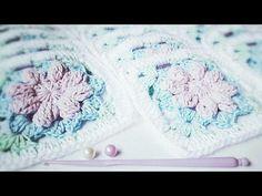 Square de crochê #17 - YouTube