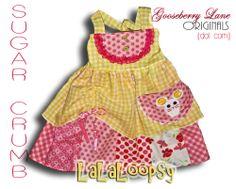 Lalaloopsy Sugar Crumb dress