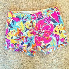 Lilly Pulitzer Callahan shorts sz 6 Euc, no signs of wear! Lilly Pulitzer Shorts