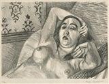 Henri Matisse - Le repos du modele, 1922,... on MutualArt.com