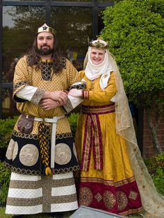 SCA photos from events. HUGE database from MANY events. (Love the embellishment on both these outfits!)