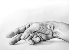 @Karli Johnson Doesn't this look real?! I get heart palpitations FOR YOU thinking this type of art is ahead of you - LOL!! The hyper-realist drawings of Cath Riley. Hand and Face Study