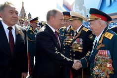 On May 9's  2016, Victory Day the President greets... to commemorate