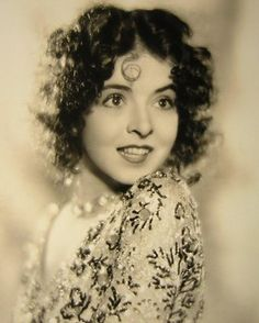 Colleen Moore, natural beauty of the silent film era.