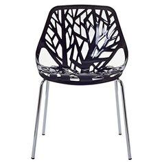 Poly and Bark Birds Nest Dining Side Chair (Set of 2), Black Poly and Bark http://www.amazon.com/dp/B016WKW5JK/ref=cm_sw_r_pi_dp_qdN.wb11TC78S