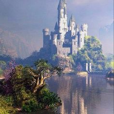 I want to go see this place one day. This place looks like the Castle in tangled! Beautiful Castles, Beautiful Buildings, Beautiful World, Beautiful Places, Famous Castles, Castle In The Sky, Fairytale Castle, Medieval Castle, Kirchen
