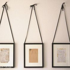 Frame an old family recipe and use it as kitchen art. The more bent-up, used, and spilled-on the better.